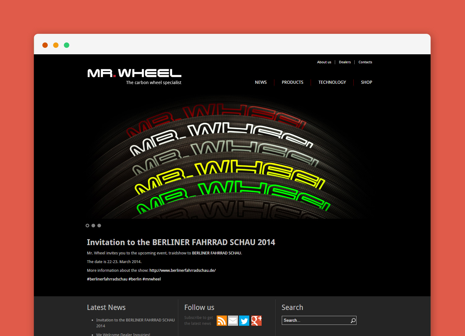 Mr. Wheel website